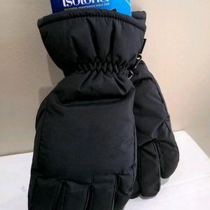 Isotoner Heavy Winter Gloves Men